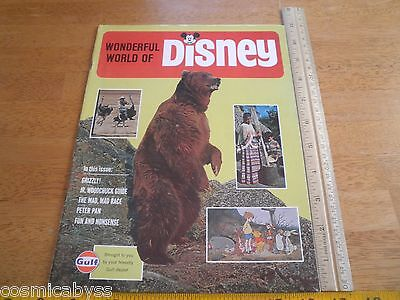 1965 Wonderful World of Disney Gulf OIL magazine promo Winnie the Pooh