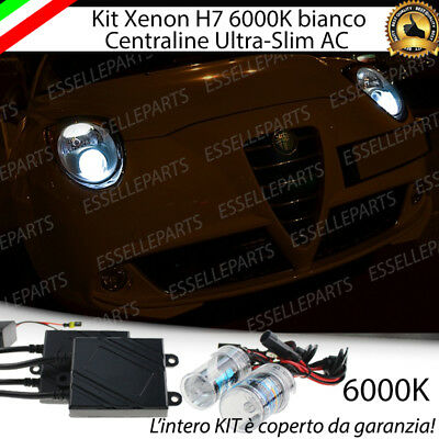 Kit Xenon Slim Xeno H7 6000K 35W Specifico Alfa Romeo Mito No Error Con Garanzia