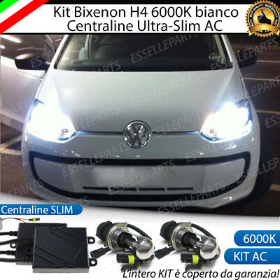 Kit Xenon Slim Bixenon Bixeno Xeno H4 6000K 35W Specifico Volkswagen Up No Error