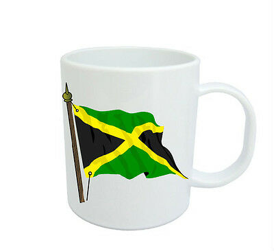 Jamaican  Flag  Coffee Mug Free Personalisation Jamaica