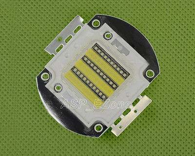 60W Blue White High Power LED SMD 25000K 3500-3700LM Aquarium Light
