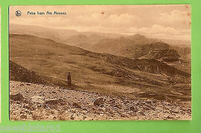 #e.   Jordan   Postcard -  Petra From Ain Moussa
