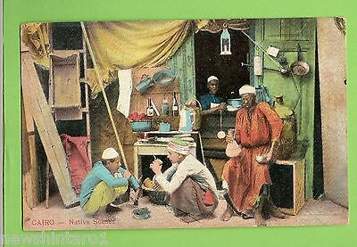 #e.   Postcard -   Native Scenes Cairo, Egypt