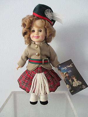 "Shirley Temple Doll ""WEE WILLIE WINKIE"" by Ideal 1983 8""  NWOB"