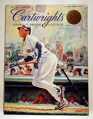Cartwrights Magazine Issue #2 Ken Griffey Jr. Cover Including 31 Trading Cards