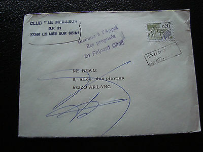 FRANCE - enveloppe 1982 timbre preoblitere yt n° 174 (cy53) french (A)