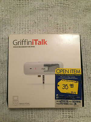 Griffin iTalk Voice Recorder for iPod (4020-Talk)