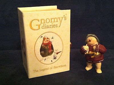 Gnomy's Diaries by AnnekaBouke The Legend of Snowtime Snowman with Skates