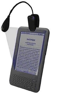 Clip-On ONE LED Music Stand Reading Light  for KINDLE / E-BOOKS AND LAPTOPS