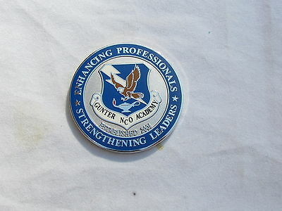 US Air Force Gunter NCO Academy, Established 2001 Challenge Coin