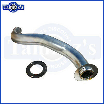 1965-1967 Chevy II Nova Fuel / Gas Tank Filler Neck Tube Pipe with Gasket