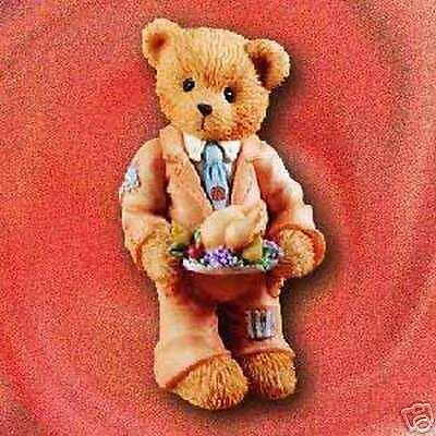 Cherished Teddies Rick -  Suited Up For the Holidays #141291
