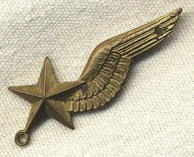 Rare WWII Free French Air Force Observer Rate Badge