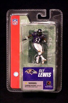 NFL Ray Lewis Baltimore Ravens Mini 3in Action Figure McFarlane Toys