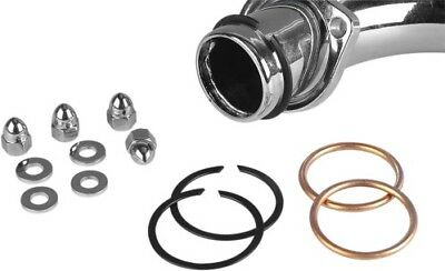 Genuine James Copper Crush Ring Exhaust Port Gaskets Nuts - 65324-83-KCR1