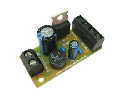 S458 Fixed voltage regulator 12V DC Kit V1.0 ideal for 12V Streetlights