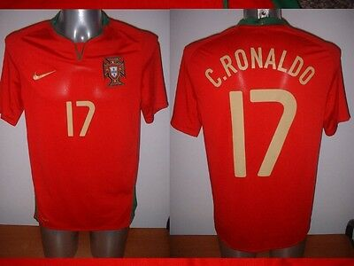 Portugal Ronaldo Shirt Jersey Football Soccer Nike Adult M Real Madrid Man Utd H