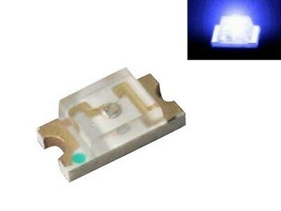 S912 - 50 pcs SMD LED 1206 Blue LEDs Blue