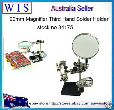 Magnifier Helping Third Hand Soldering Stand Solder Holder,Helping Hand-84175