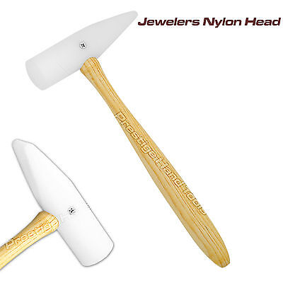 Nylon Wedge Hammer Jewellers watchmakers Non marring metal work Prestige # 04411