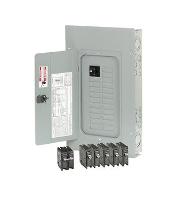 100 Amp Electrical Panel Main Breaker Load Center with select breaker box