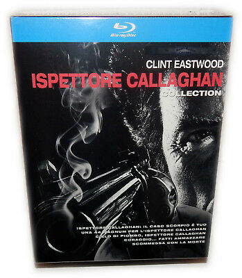 Dirty Harry Collection 1,2,3,4,5 [Blu-Ray] Deutsch(er) Ton, Clint Eastwood