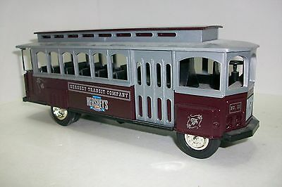 O  HERSHEY'S TROLLEY CAR – (L1004) ERTL 100th ANNIVERSARY, metal and plastic