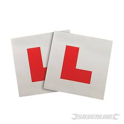 One Single Silverline Magnetic Learner Car Auto L Plate
