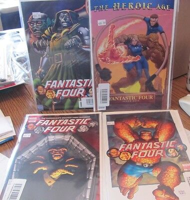 Fantastic Four lot of 4 variant covers #579 583 584 584B