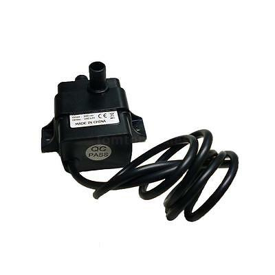 Mini DC12V Micro Brushless Water Oil Submersible Fountain Pump 5W 240L/H 0~60℃