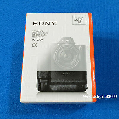 Sony Genuine  VG-C2EM Battery Vertical Grip For A7 II A7R II A7s II A7M2 A7RM2