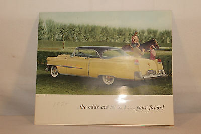 """1954 Cadillac VIP Mailer Brochure, """"The odds are 50 to 1... Your Favor'"""