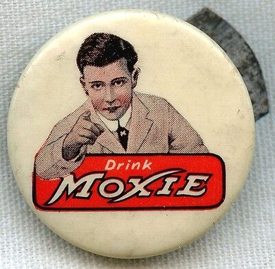 Wonderful Vintage 1900s Moxie Celluloid Clicker by Whitehead & Hoag
