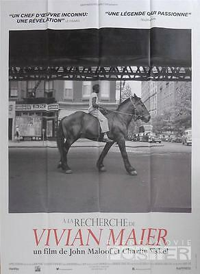 Finding Vivian Maier - Rare Style D - Photography - Documentary French Poster