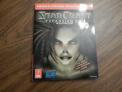 Prima's Official Strategy Guide Star Craft Expansion Set Brood War, PC