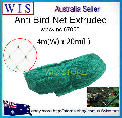 20m Garden Insect Netting Plants Anti Pest Net Fruits Tree Protect Bird Screen
