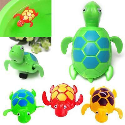New Wind up Swimming Turtle Pool Animal Floating Toys For Baby Kids Bath Time