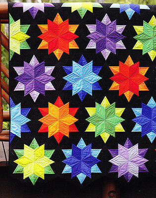 Night Sky - fabulous modern pieced quilt PATTERN - Jaybird
