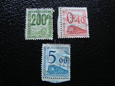 FRANCE -timbre yvert et tellier colis postaux n° 24 35 45 obl (A15)stamp french