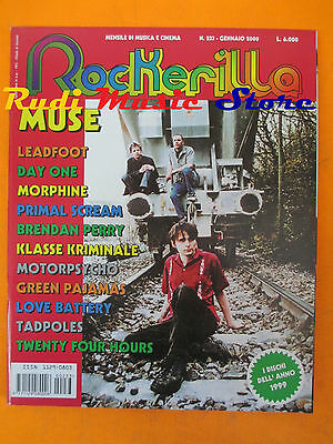 rivista ROCKERILLA 233/2000 Muse Primal Scream Theraphy? Leadfoot Bauhaus *NO cd