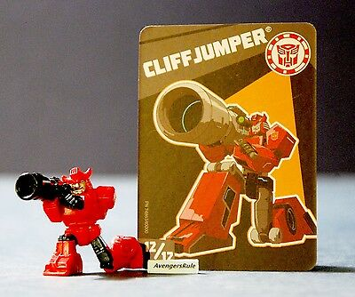 Transformers Tiny Titans Series 1 Robots in Disguise 12/12 Cliffjumper