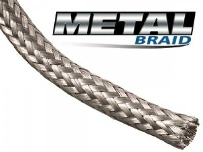 EMI, RFI, ESD - 3m - Metal Braid Tinned Copper Braided Cable Shielding Sleeving
