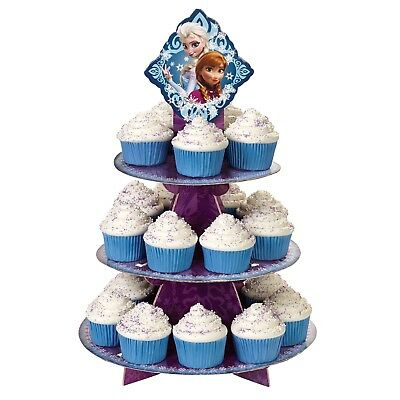 Disney Frozen Wilton Party Supplies Cupcake Stand Holder Holds 24 Cupcakes