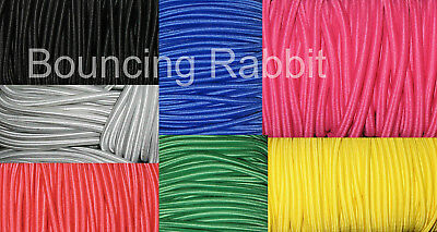 Elastic Bungee Rope Shock Cord Tie Down: You choose size, length and colour