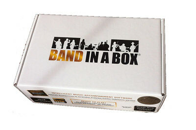 PG Music Band in a Box Audiophile 2020 PC Windows Composition & Accompaniment