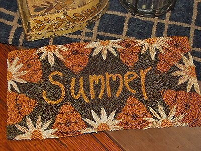 "Primitive Punch Needle Pattern ~  ""Summer"""