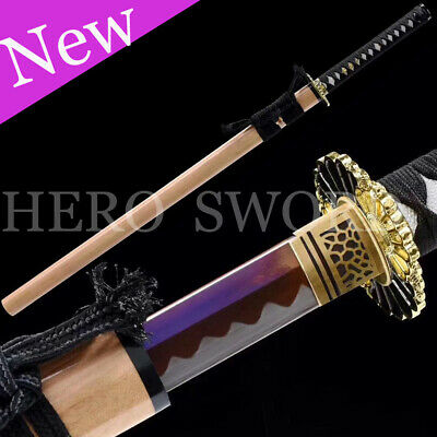 High Carbon Steel Chinese Sword 6 Sides Han Dynasty Sword Sharp Nice Gift