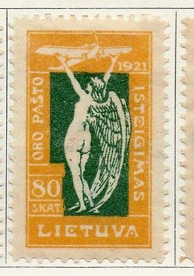 Lithuania 1921 Early Issue Fine Mint Hinged 80s. 104432