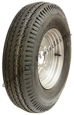 5.00-10 trailer wheel, 4 ply high speed road legal 355 kgs 500x10 72N 5.00x10