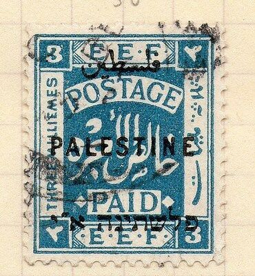 Palestine Early 1921 Issue 3m. Fine Used 97272